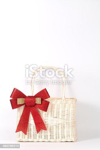 istock Santa basket 495288310