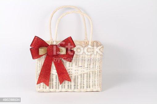 istock Santa basket 495288534