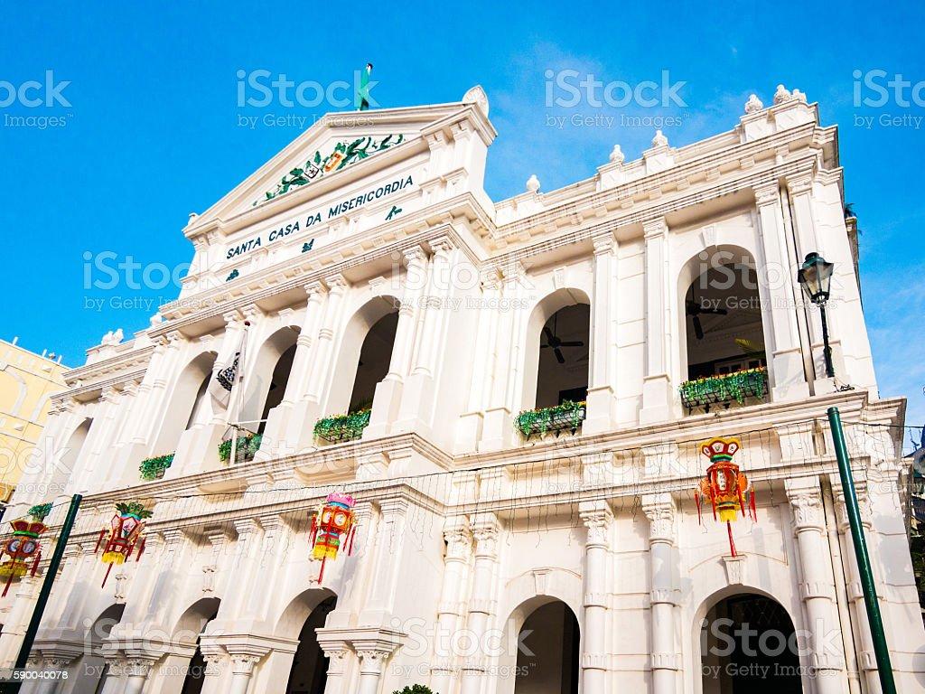 Santa Casa da Misericordia in Macau, China