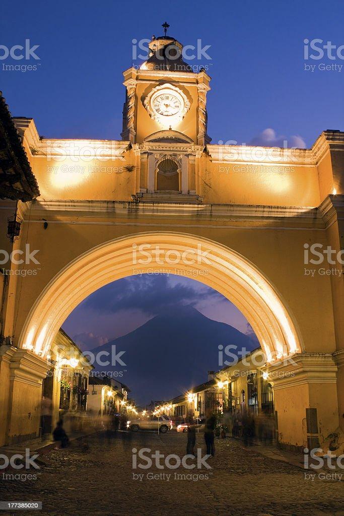 Santa Catalina Arch stock photo