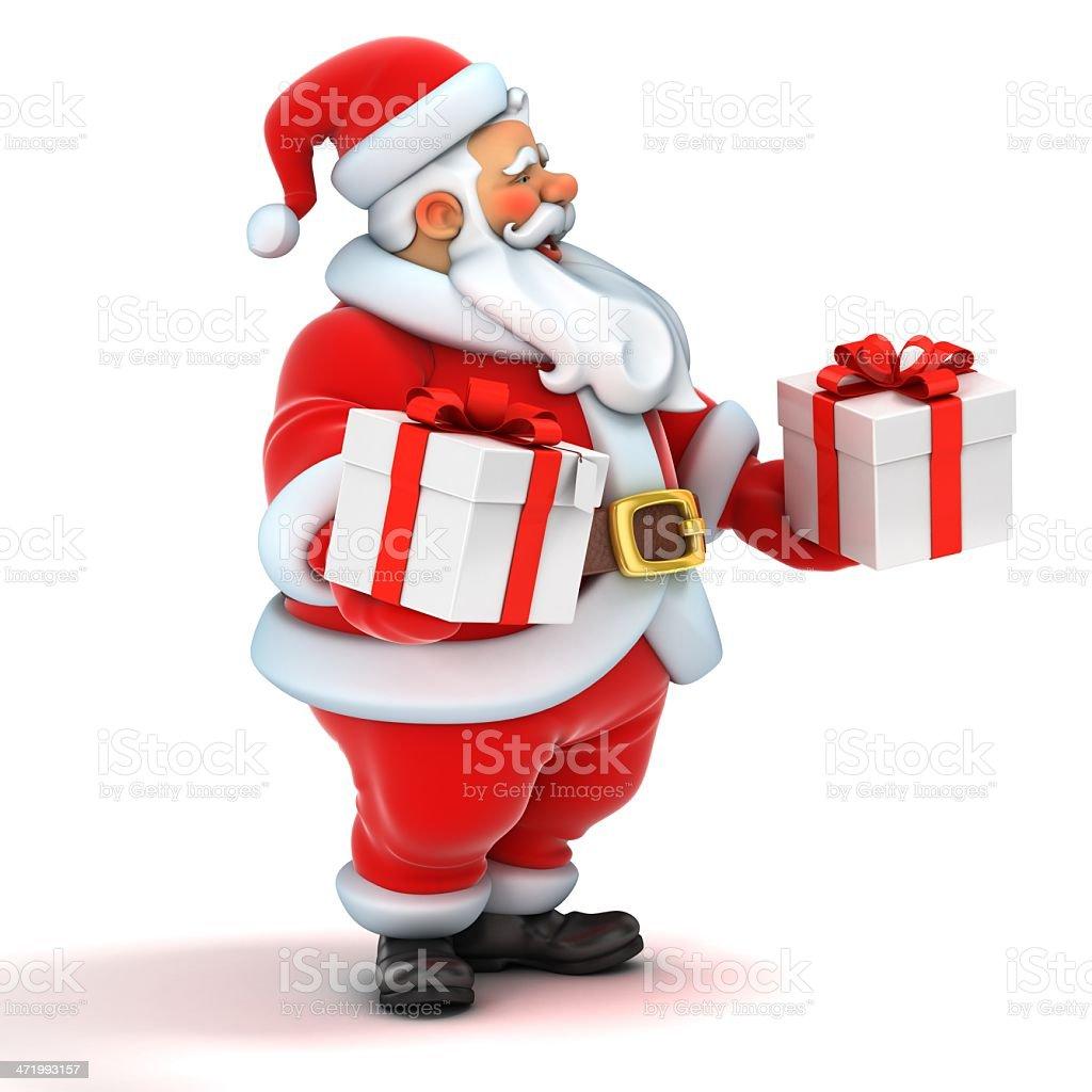 Babbi Natale.Babbo Natale 3d Illustrazione Fotografie Stock E Altre Immagini Di Allegro Istock