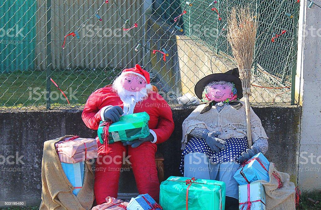 Babbo Natale e Epifania - foto stock