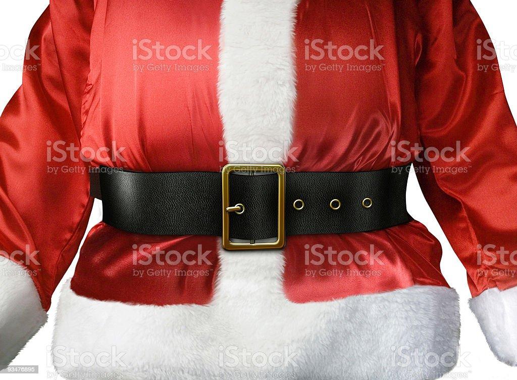 Santa Claus belt royalty-free stock photo