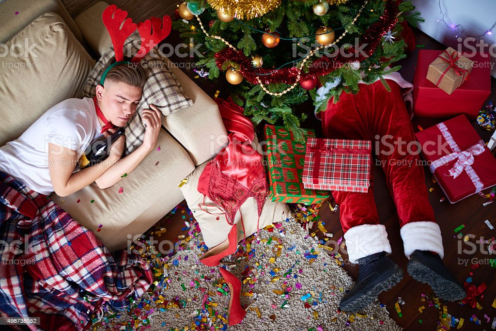 Santa Claus can't go away stock photo
