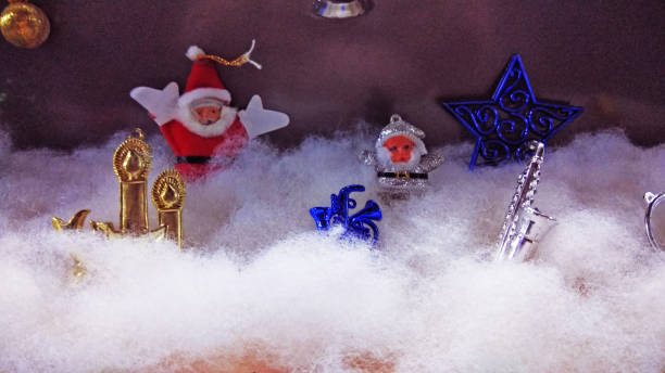 Santa Claus - Christmas Merry Christmas - Santa Clause christmas teddy bear stock pictures, royalty-free photos & images