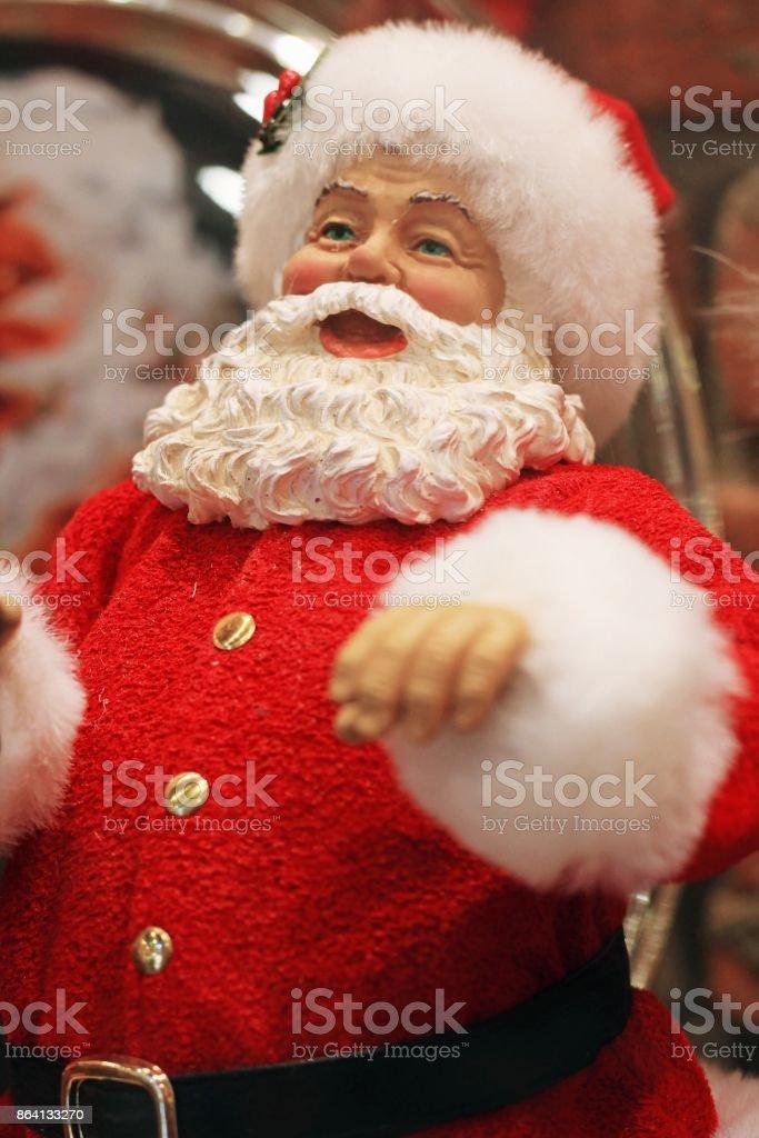 Santa Claus dolls royalty-free stock photo