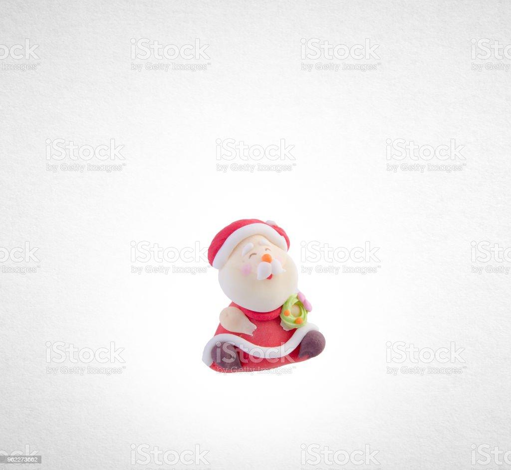 Foto De Estatueta De Pai Natal Ou Papai Noel Em Um Fundo E