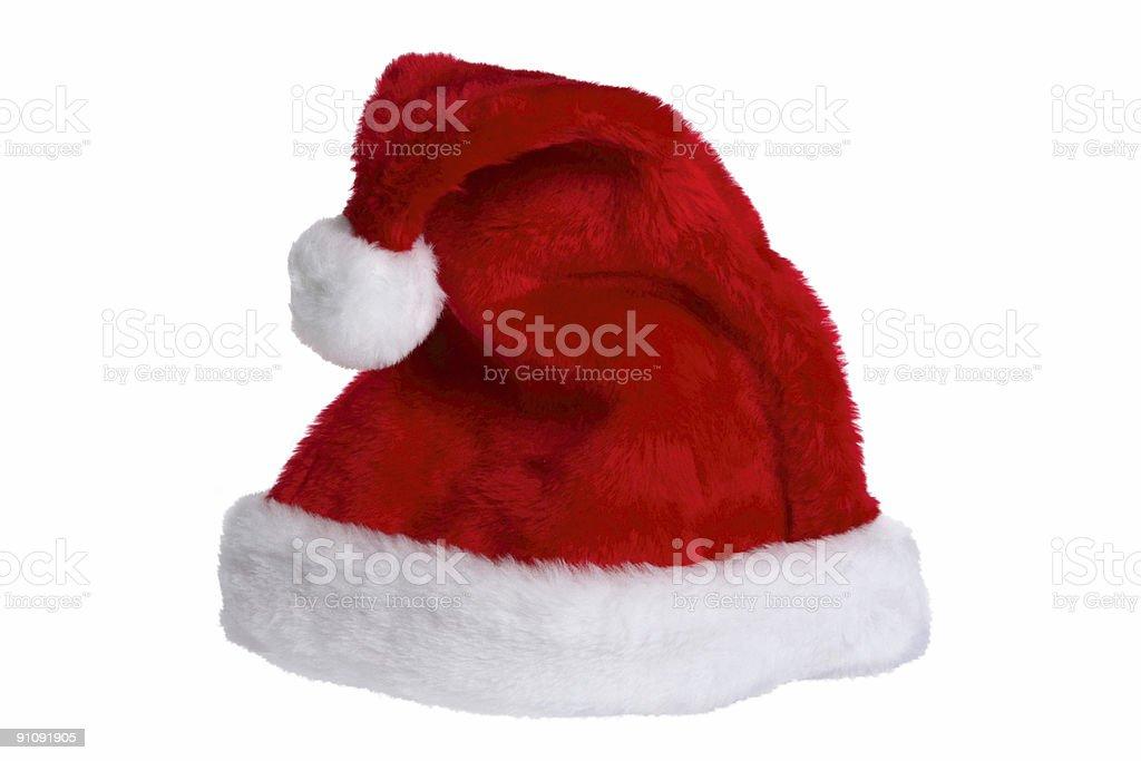 Santa Claus Hat (Isolated) stock photo