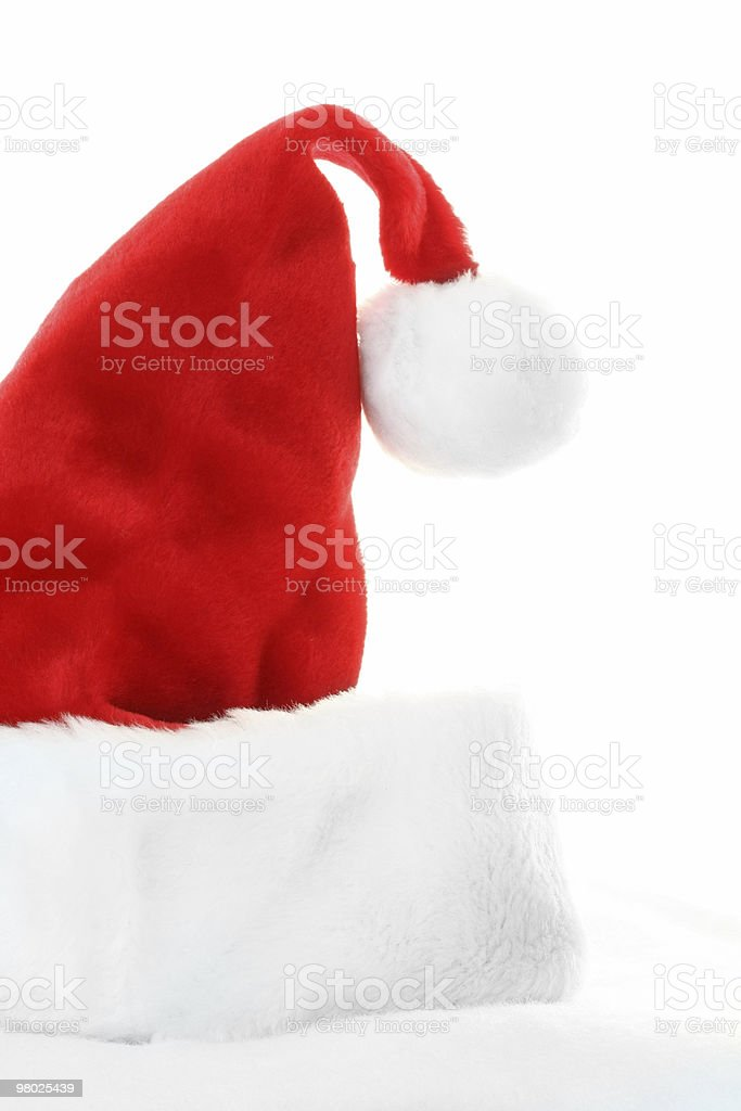 Santa Claus Hat royalty-free stock photo