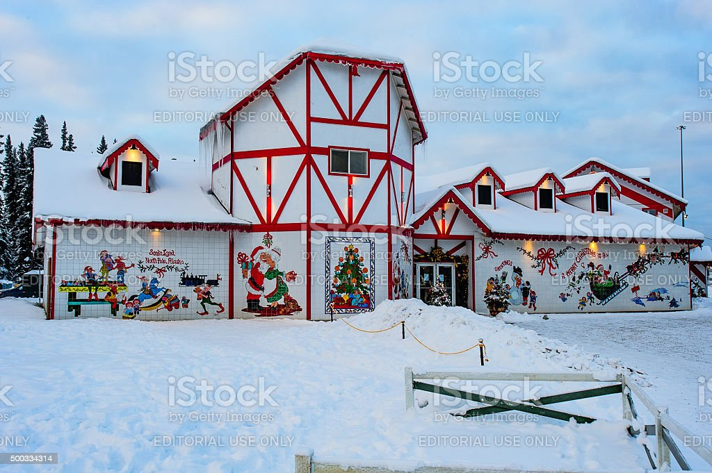 Santa Claus House royalty-free stock photo