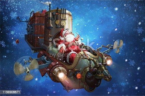 istock Santa claus. 1156908871