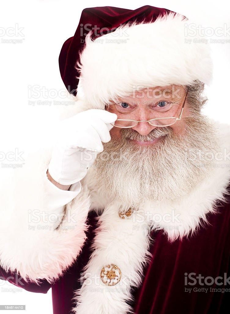 Santa Claus Portrait royalty-free stock photo
