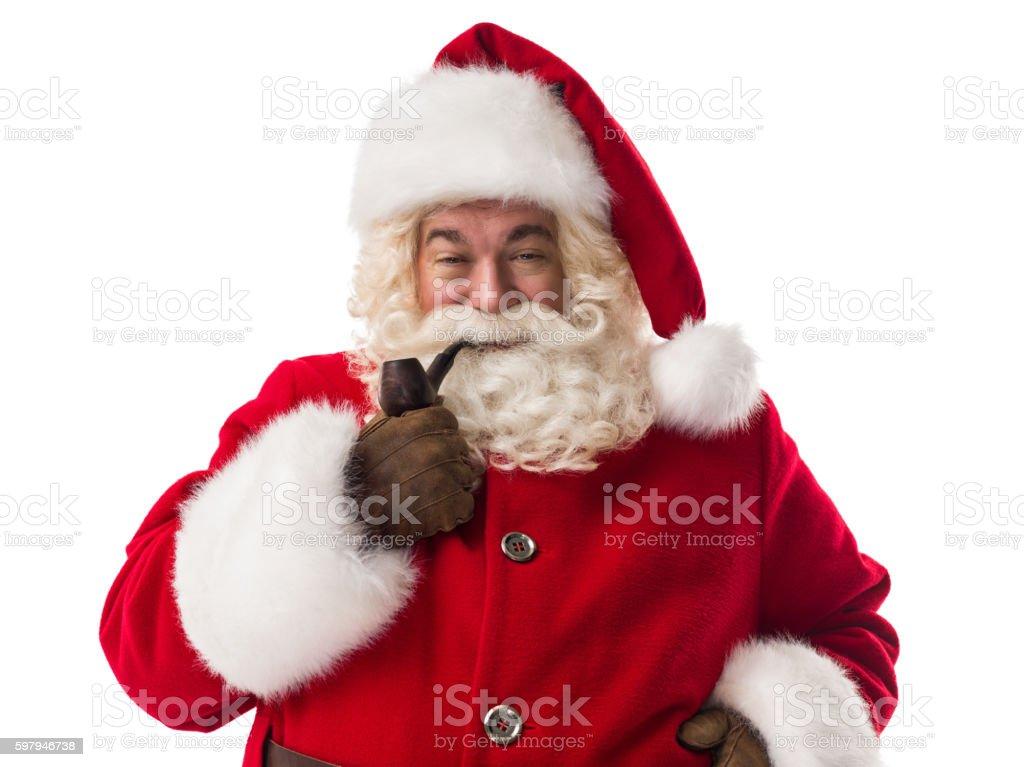 Papai Noel Retrato foto royalty-free