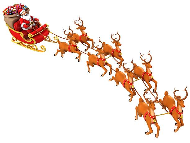 Santa claus rides reindeer sleigh picture id459193691?b=1&k=6&m=459193691&s=612x612&w=0&h=g9nclbosstexfe8rud2j4frkurj0tzp60ncuiiawk9s=