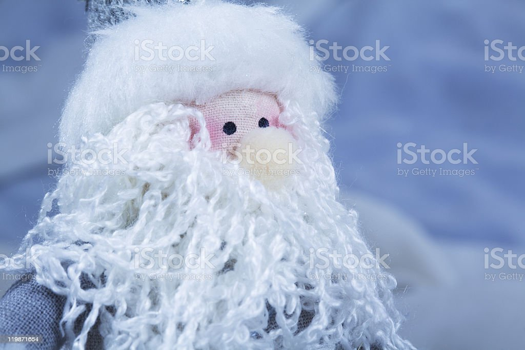 Santa Claus toy royalty-free stock photo