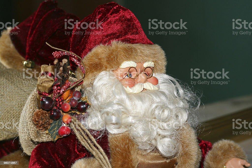 Santa Claus, toy royalty-free stock photo