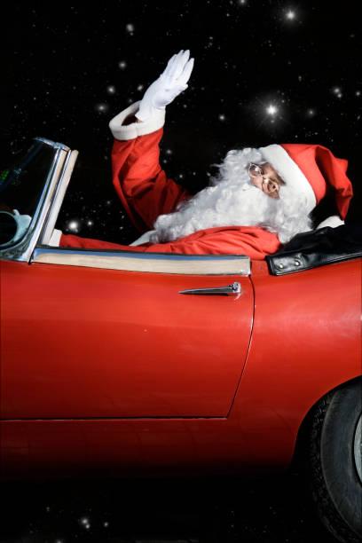 santa claus arbeiten - 1m coupe stock-fotos und bilder