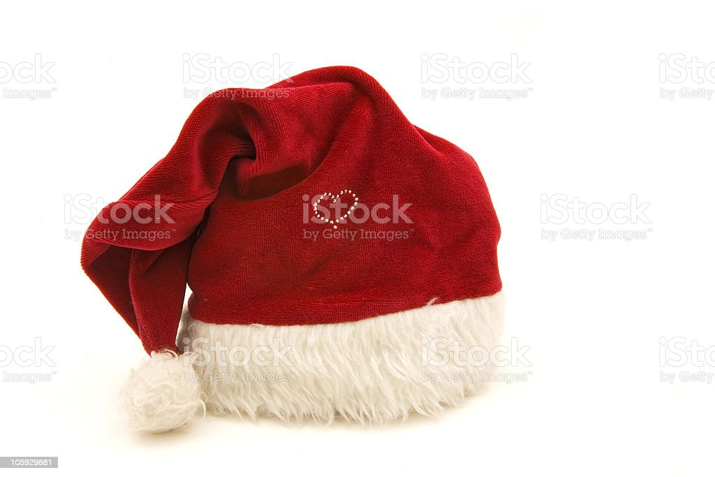 Santa Clause hat royalty-free stock photo