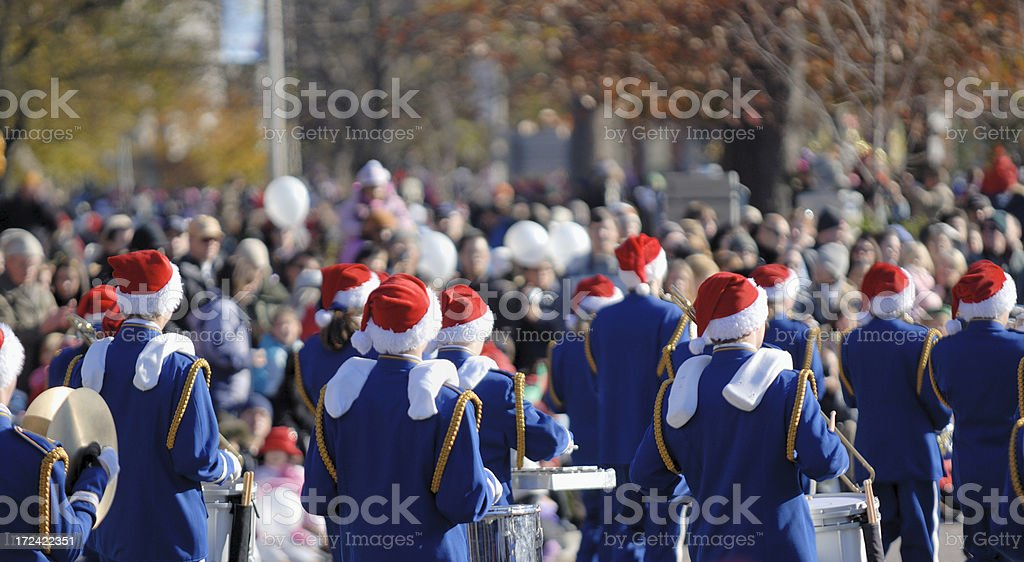 Santa Clause Parade stock photo