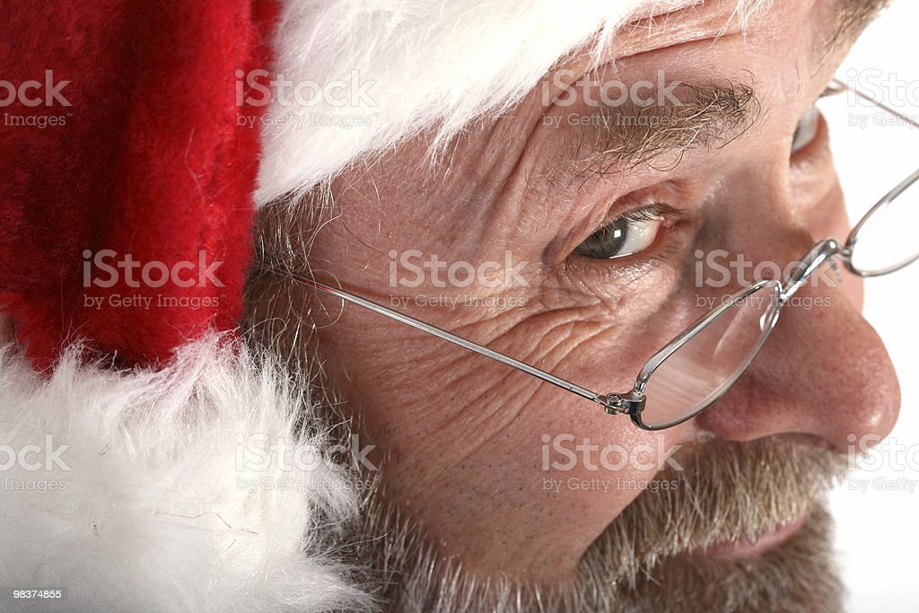 Santa Close up royalty-free stock photo