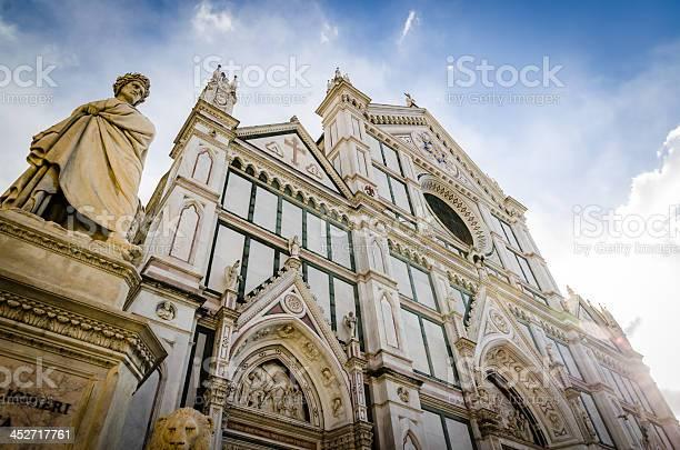 Santa croce church and dante alighighieri statue in florence picture id452717761?b=1&k=6&m=452717761&s=612x612&h=ytqlkofepadejhvweh as8lsemcowtu 41lkynewtiw=