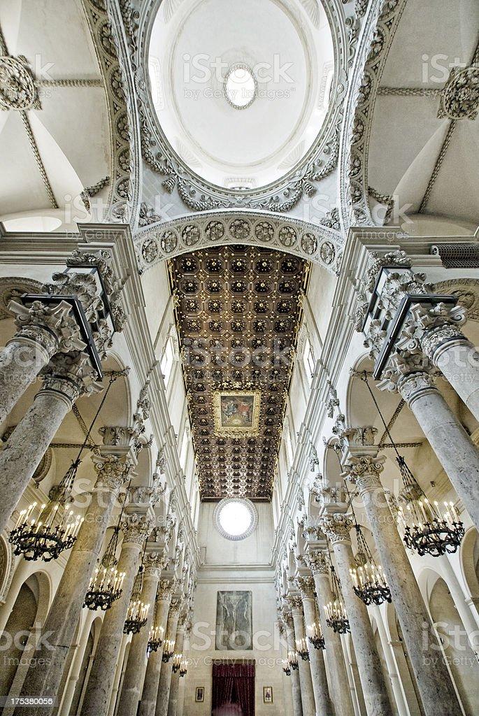 Santa Croce, Lecce Italy stock photo