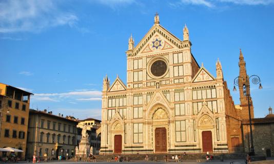 Santa Croce square and Basilica