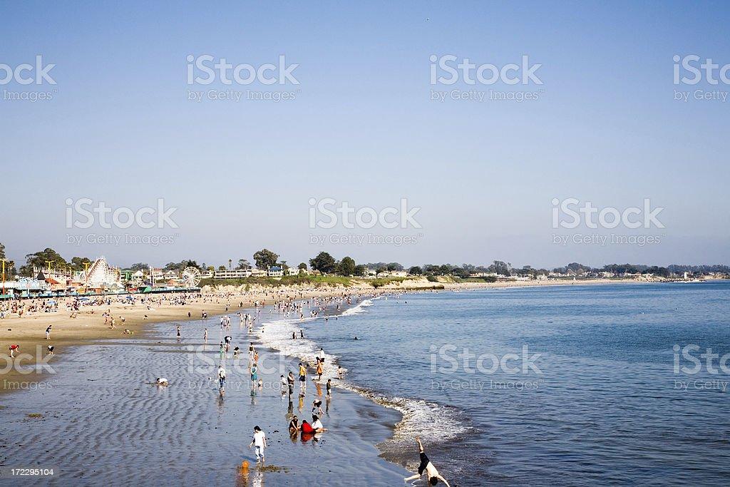 Santa Cruz Beach Horizontal stock photo