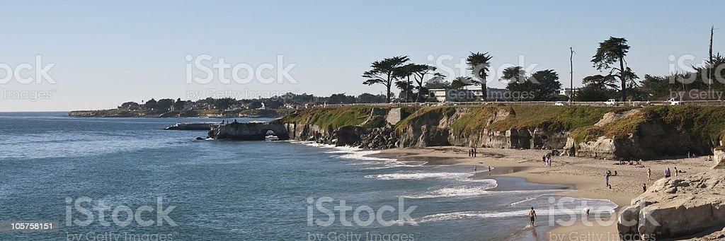 Santa Cruz Beach Revised stock photo