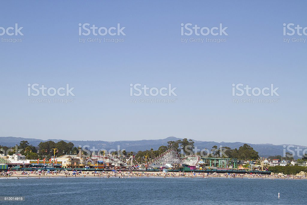 Santa Cruz Boardwalk stock photo