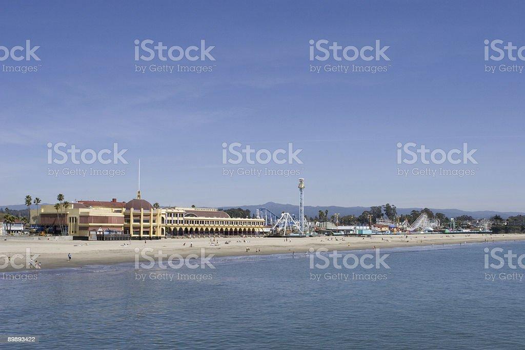 Santa Cruz Boardwalk royalty-free stock photo
