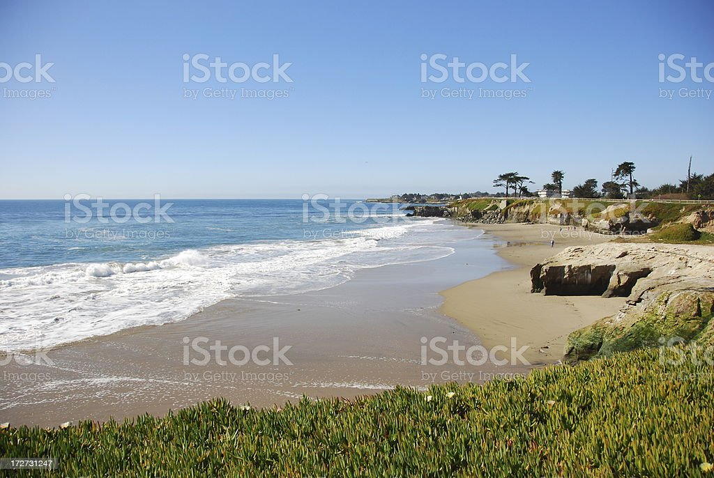 Santa Cruz Coastline stock photo