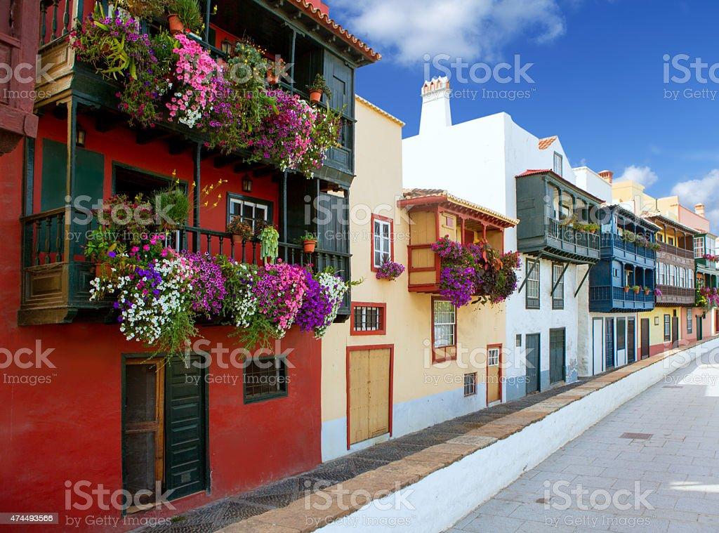 Fotografía De Santa Cruz De La Palma De Fachadas Casa Colonial Y Más
