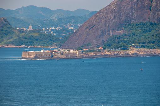Santa Cruz fortress in Niteroi in Rio de Janeiro Brazil.