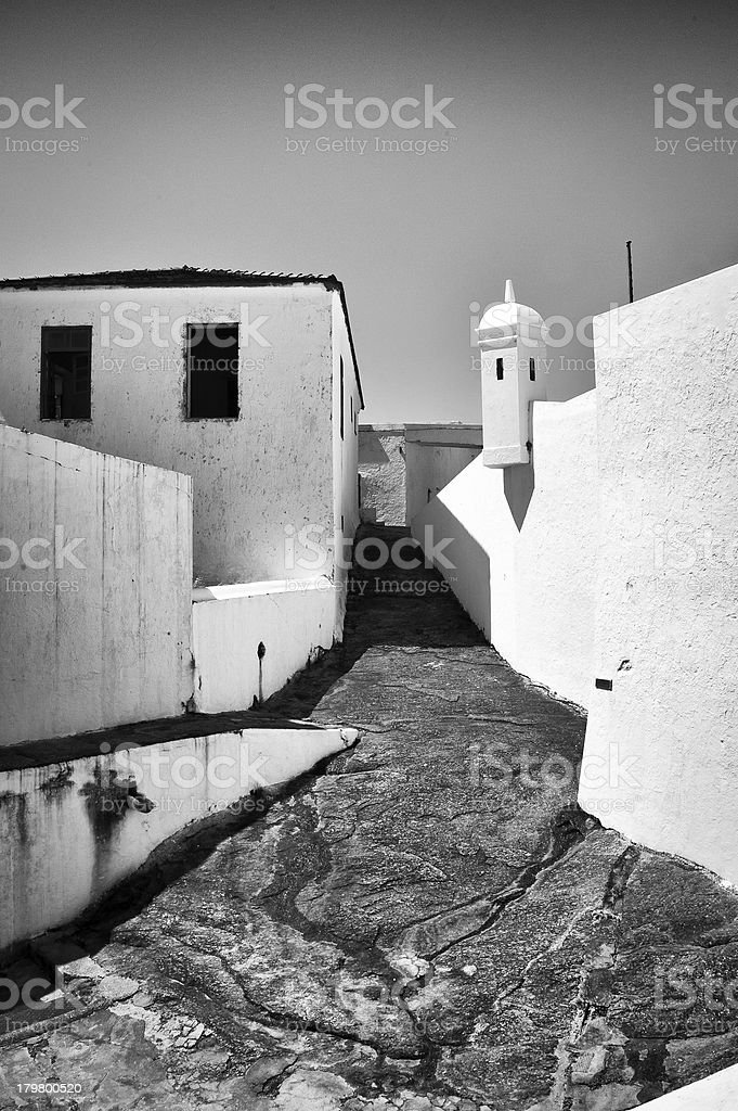 Santa Cruz Fortress royalty-free stock photo