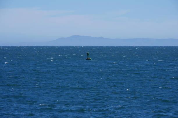 Santa Cruz Island stock photo