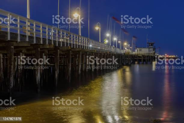 Photo of Santa Cruz Municipal Wharf at Blue Hour