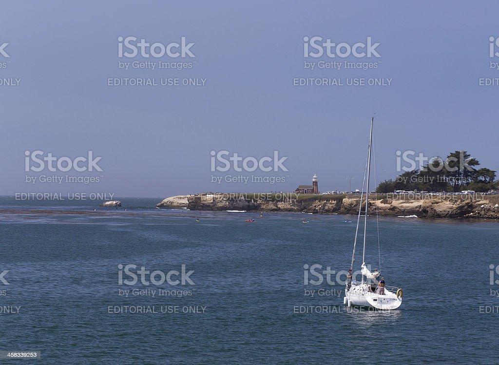 Santa Cruz Sailors royalty-free stock photo