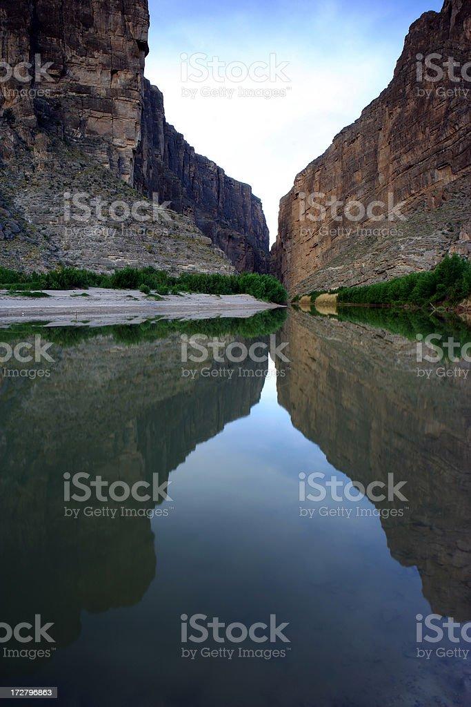Santa Elena Canyon royalty-free stock photo