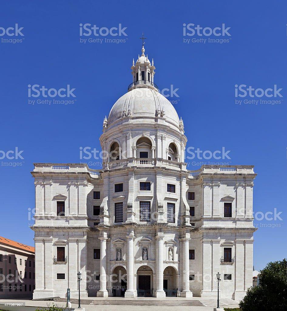 Santa Engracia Church, National Pantheon, Lisbon stock photo