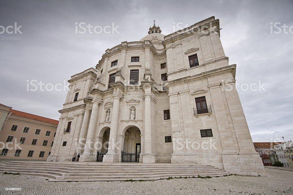 Santa Engracia church stock photo