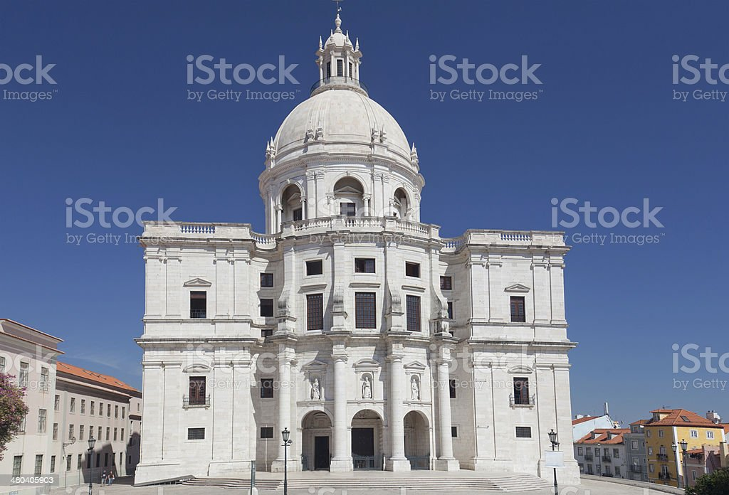 Santa Engrassiya's (Pantheon) church stock photo