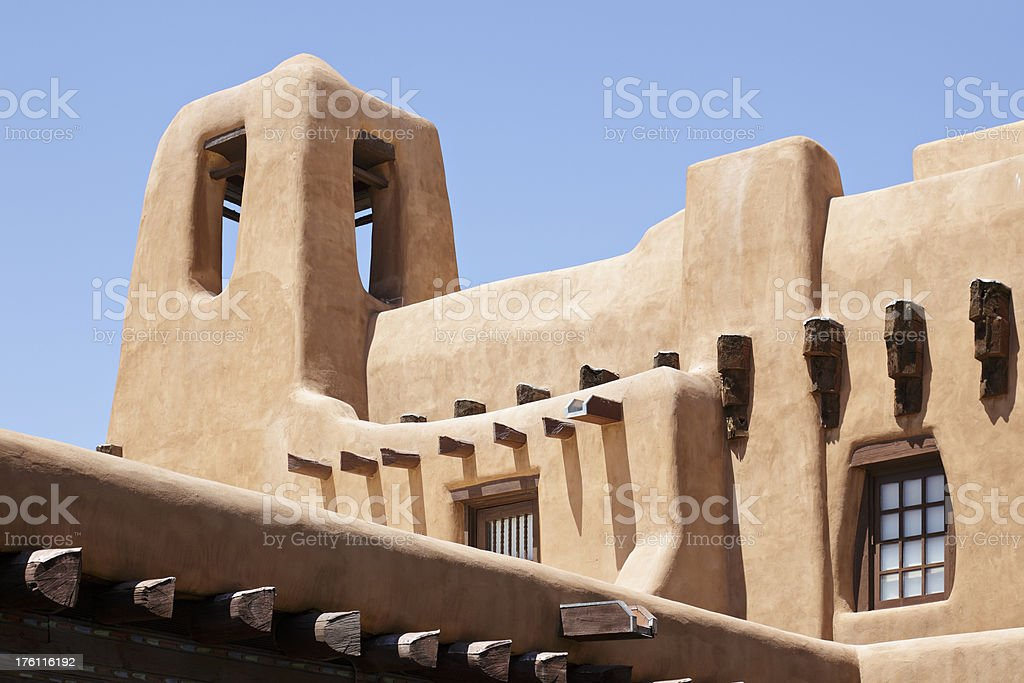 Santa Fe Architecture royalty-free stock photo