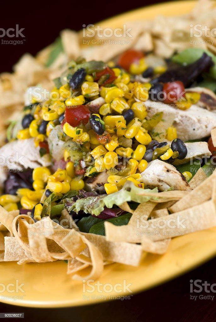 Santa Fe Chicken Salad stock photo