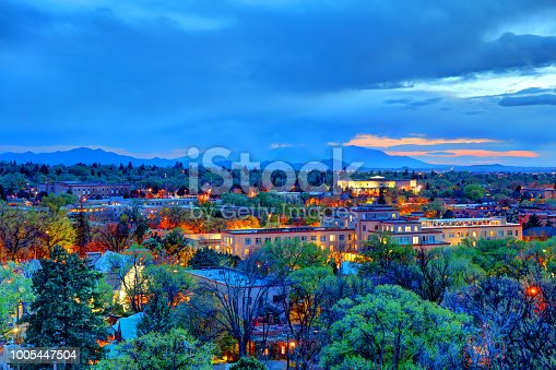 Santa Fe is the capital of the U.S. state of New Mexico. It is the fourth-largest city in the state and the seat of Santa Fe County