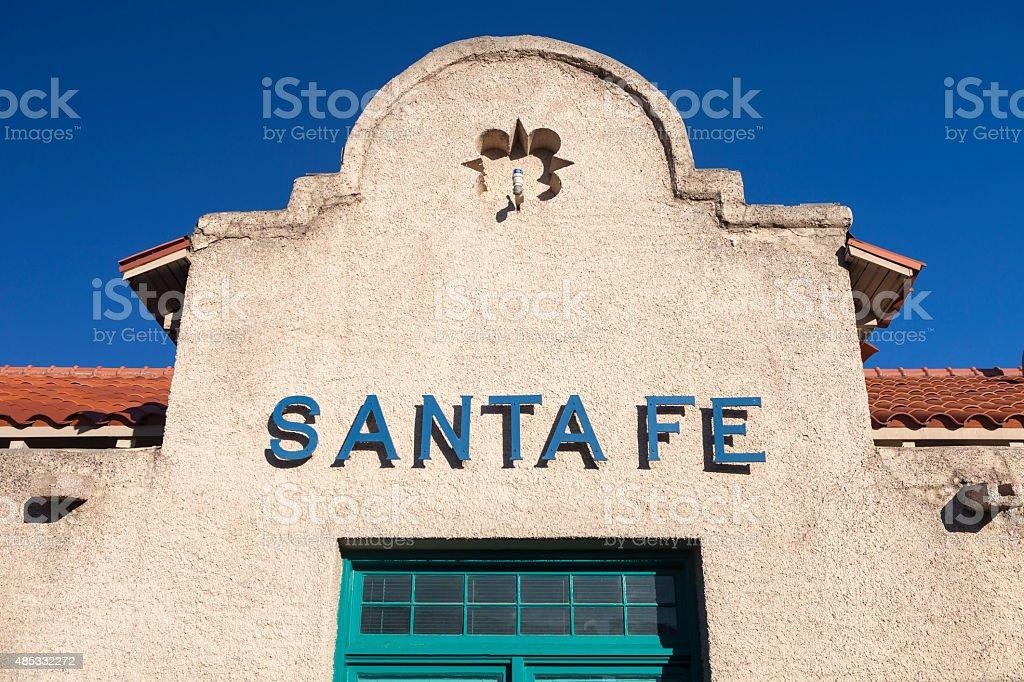 Santa Fe, New Mexico Train Station stock photo