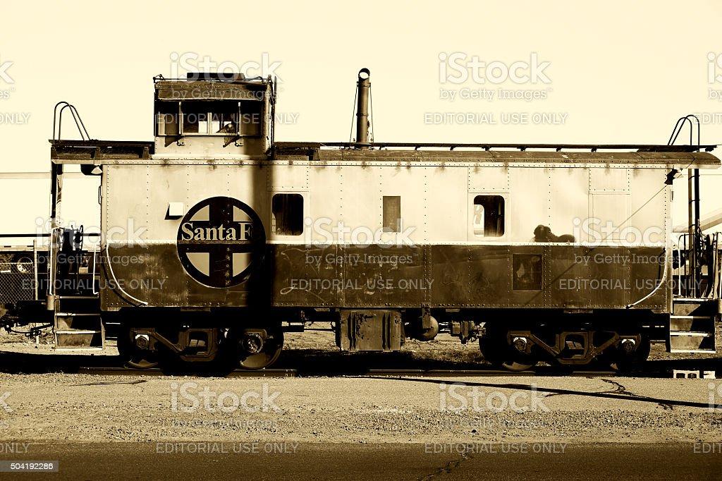 Santa Fe Railroad stock photo