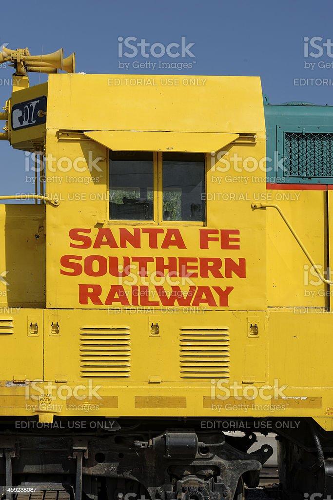 Santa Fe Southern Railway stock photo