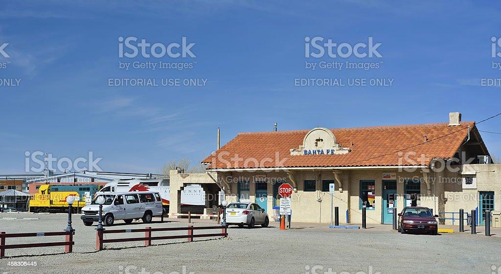 Santa Fe Vistors Center stock photo