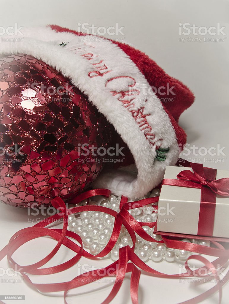 Santa Gift royalty-free stock photo